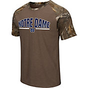 Colosseum Athletics Men's Notre Dame Fighting Irish Home Range Raglan T-Shirt