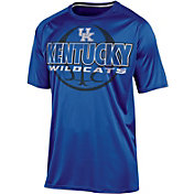 Champion Men's Kentucky Wildcats Blue High Impact Basketball T-Shirt