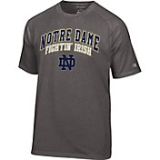 Champion Men's Notre Dame Fighting Irish Grey Dual-Blend T-Shirt