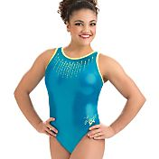 GK Elite Women's Laurie Hernandez Glo Girl Gymnastics Leotard