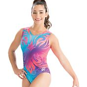 GK Elite Women's Aly Raisman Artistic Bloom Gymnastics Leotard