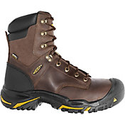 KEEN Men's Mt. Vernon 8'' Waterproof Steel Toe Work Boots