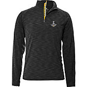 Levelwear Men's NHL Stanley Cup Champions Pittsburgh Penguins Quarter-Zip Top
