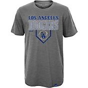 Majestic Youth Los Angeles Dodgers Heirloom Grey T-Shirt