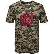 Majestic Youth Washington Nationals Cool Base Digi Camo Performance T-Shirt