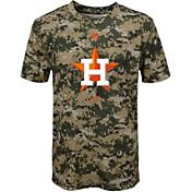 Majestic Youth Houston Astros Cool Base Digi Camo Performance T-Shirt