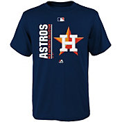 Majestic Youth Houston Astros Authentic Collection Navy T-Shirt