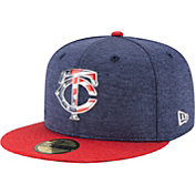 New Era Men's Minnesota Twins 59Fifty 2017 July 4th Authentic Hat