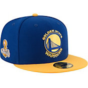 New Era Men's 2017 NBA Champions Golden State Warriors 59Fifty Royal Fitted Hat
