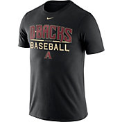 Nike Men's Arizona Diamondbacks Practice Black T-Shirt