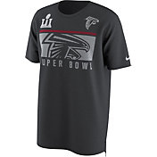Nike Men's Super Bowl LI Bound Atlanta Falcons Local Anthracite T-Shirt