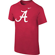 Nike Youth Alabama Crimson Tide Crimson Logo T-Shirt