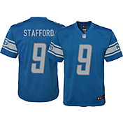 Nike Youth Home Game Jersey Detroit Lions Matthew Stafford #9