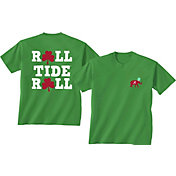 New World Graphics Men's Alabama Crimson Tide Green St. Patrick's Day T-Shirt