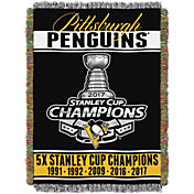 Northwest 2017 Stanley Cup Champions Pittsburgh Penguins Tapestry Blanket