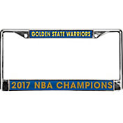 Rico 2017 NBA Finals Champions Golden State Warriors Laser License Plate Frame
