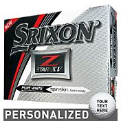 Srixon Z-STAR XV Personalized Golf Balls