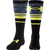Under Armour Boys' Mountain Big Camo OTC Socks