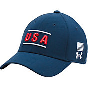 Under Armour Men's ArmourVent USA Stretch Fit Hat