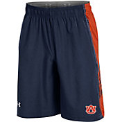 Under Armour Men's Auburn Tigers Blue Woven Training Shorts