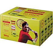 Wilson Championship Extra Duty Tennis Balls – 20 Can Pack