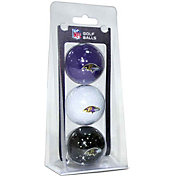 Team Golf Baltimore Ravens Golf Balls – 3 Pack