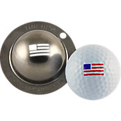 Tin Cup Golf Ball Marking System