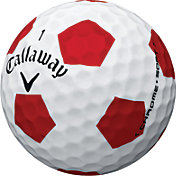 Callaway Chrome Soft Truvis Red Golf Balls - Prior Generation
