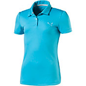 PUMA Girls' Pounce Golf Polo