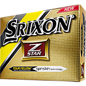 Srixon Z-STAR Yellow Golf Balls – Prior Generation