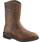 "Wolverine Men's Brek 10"" Wellington Waterproof DuraShocks Work Boots"