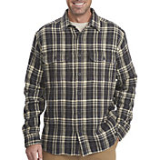 Woolrich Men's Oxbow Bend Plaid Flannel Long Sleeve Shirt