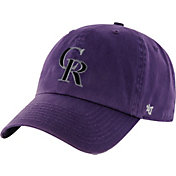 '47 Men's Colorado Rockies Clean Up Purple Adjustable Hat