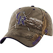 '47 Men's Colorado Rockies Realtree Camo Frost MVP Adjustable Hat