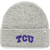 '47 Men's TCU Horned Frogs Heathered Grey Brain Freeze Cuffed Knit