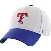 '47 Youth Texas Rangers Thurman White/Royal MVP Adjustable Hat