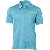 adidas Men's Advantage Heather Golf Polo