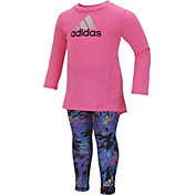 adidas Infant Girls' Pretty Strong Shirt and Leggings Set