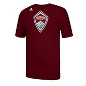 adidas Men's Colorado Rapids Logo Set Burgundy T-Shirt