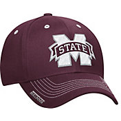 adidas Men's Mississippi State Bulldogs Maroon Sideline Coaches Structured Flex-Fitted Hat