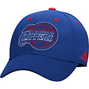 adidas Youth Los Angeles Clippers Royal Structured Flex Hat