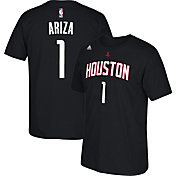adidas Youth Houston Rockets Trevor Ariza #1 Black T-Shirt