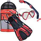 Aqua Lung Sport Kids' 4-Piece Snorkeling Set