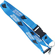 Carolina Panthers Blue Lanyard