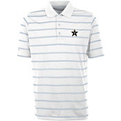 Antigua Men's Vanderbilt Commodores Deluxe Performance White Polo