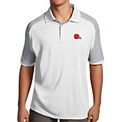 Antigua Men's Cleveland Browns Century White Polo