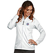 Antigua Women's Toronto Blue Jays Full-Zip White Golf Jacket