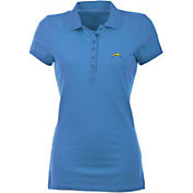 Antigua Women's Los Angeles Chargers Blue Spark Polo