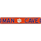 Authentic Street Signs Clemson Tigers 'Man Cave' Street Sign