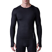 SECOND SKIN Men's QUATROFLX Long Sleeve Compression Top